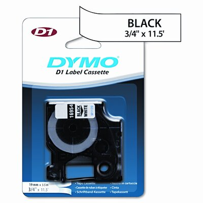 Dymo Corporation 16954 D1 Flexible Nylon Label Maker Tape, 3/4In X 12Ft
