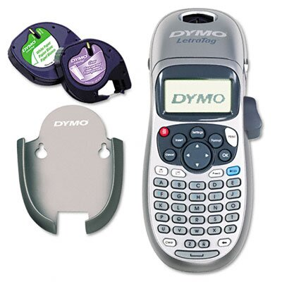 Dymo Corporation Letratag Plus Personal Label Maker, 2 Lines, 3-1/10W X 2-3/5D X 8-3/10H