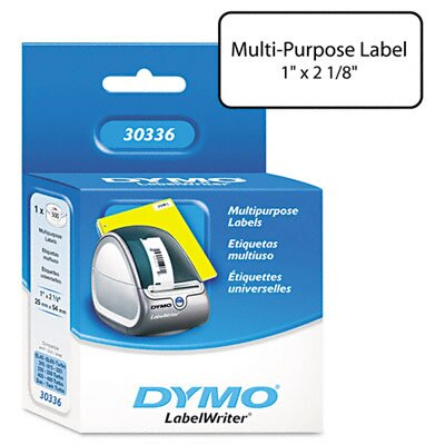 Dymo Corporation Multipurpose Labels, 500/Box