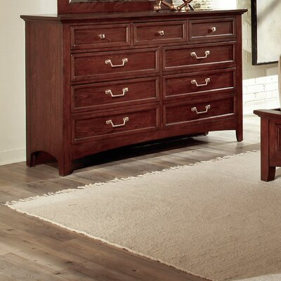 Cochrane Furniture American Urban 7 Drawer Dresser