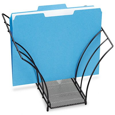 Eldon® Rolodex Butterfly File Sorter, 5 Sections, Mesh