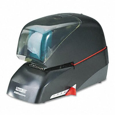 Elmer's Products Inc Rapid 5080E Heavy-Duty Flat Clinch Electric Stapler, 90-Sheet Capacity