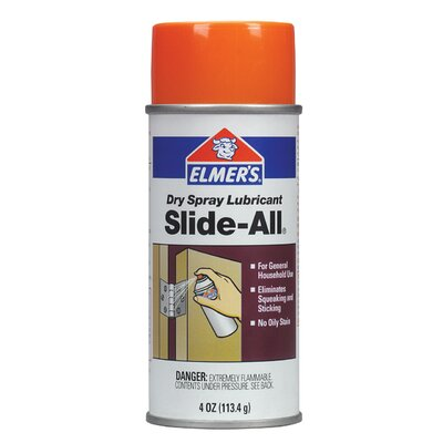 Elmer's Products Inc 4 Oz Slide All Spray Lubricant