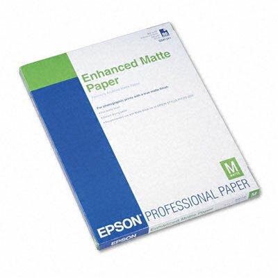 Epson America Inc. S041341 Ultra Premium Matte Presentation Paper, 8-1/2 X 11, 50/Pack