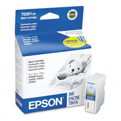 Epson America Inc. T036120 Quick-Dry Ink, 330 Page-Yield