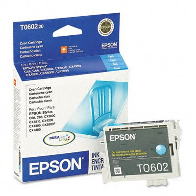 Epson America Inc. T060220 Durabrite Ink, 450 Page-Yield