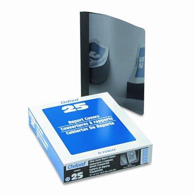 "Esselte Pendaflex Corporation Oxford Linen Finish Report Cover, Tang Clip, Letter, 1/2"" Capacity, 25/Box"