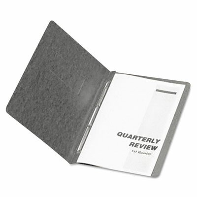"Esselte Pendaflex Corporation Oxford Pressguard Coated Report Cover, Prong Clip, Letter, 3"" Capacity"