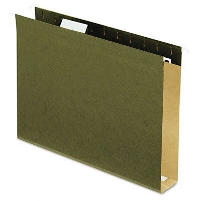 "Esselte Pendaflex Corporation Reinforced 2"" Extra Capacity Hanging Folders, Letter, 25/Box"
