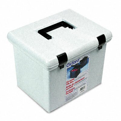 Esselte Pendaflex Corporation Portafile File Storage Box, Letter, Plastic, 13 7/8 X 14 X 11 1/8