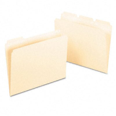 Esselte Pendaflex Corporation Ready-Tab Ready-Tab File Folders, 1/3 Cut Top Tab, Letter, 50/Box