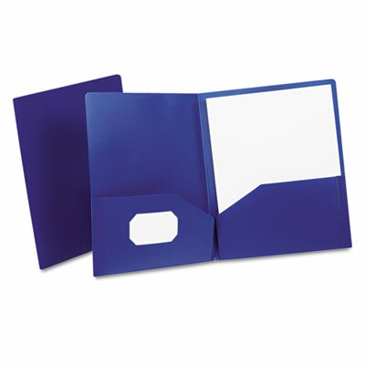 Esselte Pendaflex Corporation Oxford Twin-Pocket Polypropylene Portfolio