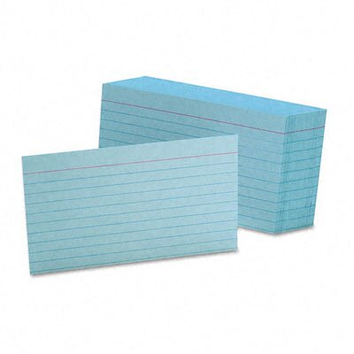 Esselte Pendaflex Corporation Ruled Index Cards, 3 x 5, Various Colors Available, 100 per Pack