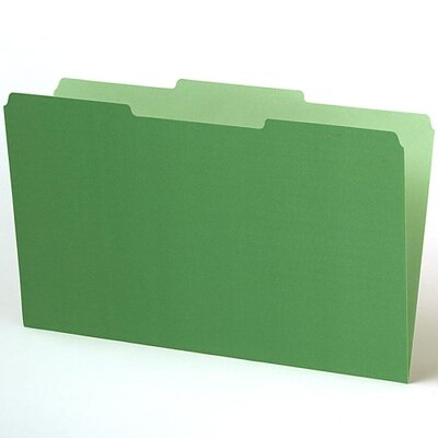 "Esselte Pendaflex Corporation Interior File Folder, 1/3 Cut Tab, 9-3/16""x14-3/4"", Various Colors"