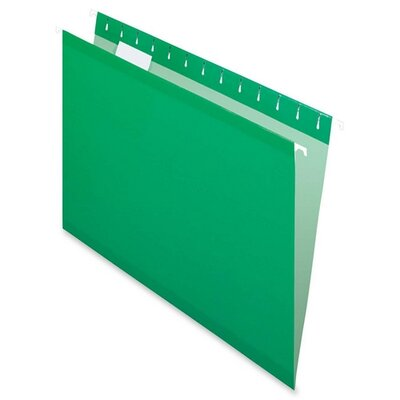 Esselte Pendaflex Corporation Reinforced Hanging Folders, Letter, 25/Box