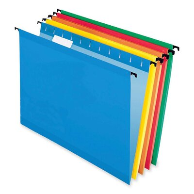 Esselte Pendaflex Corporation Surehook Hanging File Folders, Letter, 20/Box