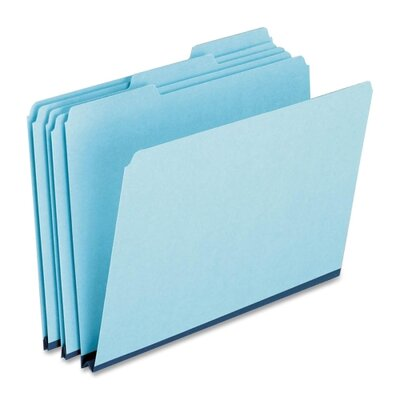 Esselte Pendaflex Corporation Pressboard Expanding File Folders, 1/3 Cut Top Tab, Letter, 25/Box