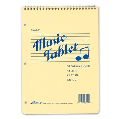 Esselte Pendaflex Corporation Music Notebook