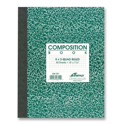 Esselte Pendaflex Corporation Graph Ruled Composition Book