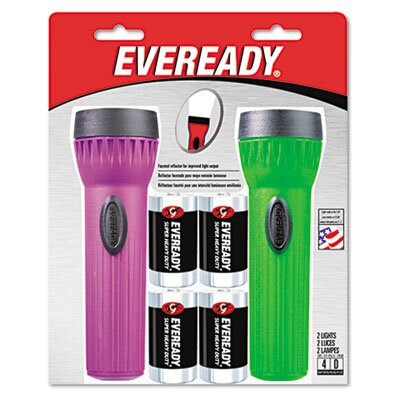 Energizer® Eveready Led Economy Bright Light, 2 Pack
