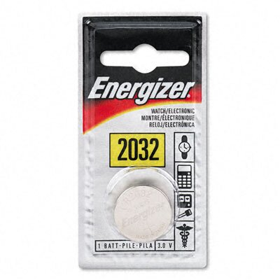 Energizer® Watch/Electronic/Specialty Battery, 2032, 3 Volt