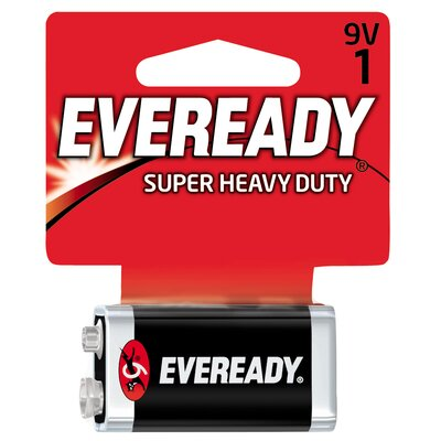 Energizer® 9 Volt Heavy-Duty Battery