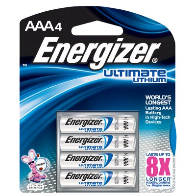 Energizer® E2 AAA Lithium Battery (4 Pack)