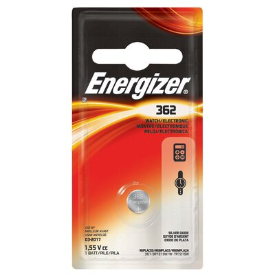 Energizer® 362 Watch and Calculator Battery