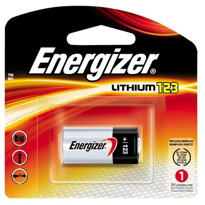 Energizer® 3 Volt Lithium Photo Battery