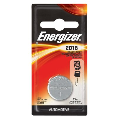 Energizer® 3 Volt 2016 Lithium Battery
