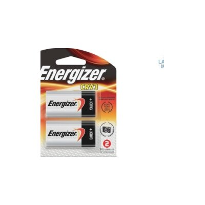 Energizer® e2 Lithium Photo Battery, CRV3, 3V, 2/Pack