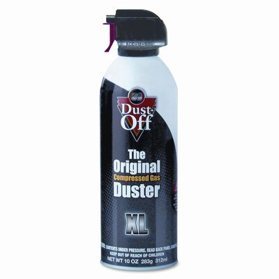 Falcon Safety Disposable Compressed Gas Duster, 10oz Can