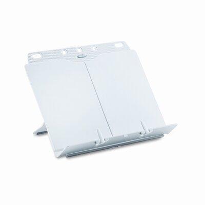 Fellowes Mfg. Co. Booklift Adjustable Desktop Copyholder, Plastic