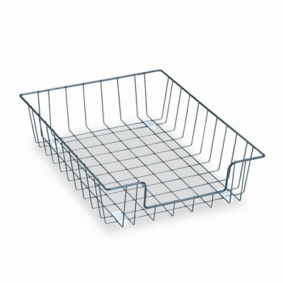 Fellowes Mfg. Co. Workstation Letter Desk Tray Organizer, Wire