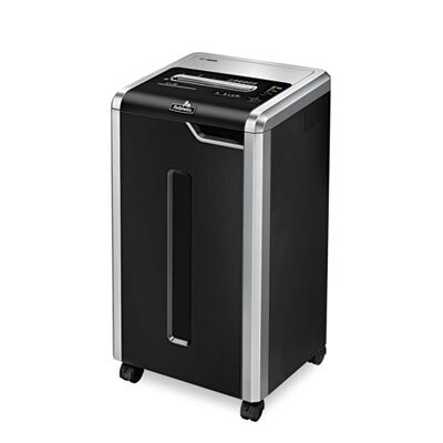 Fellowes Mfg. Co. Powershred 325I Continuous-Duty Strip-Cut Shredder, 24 Sheet Capacity