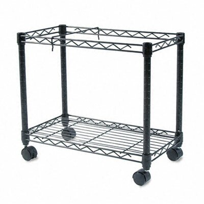 "Fellowes Mfg. Co. 14.5"" High-Capacity Rolling File Cart"