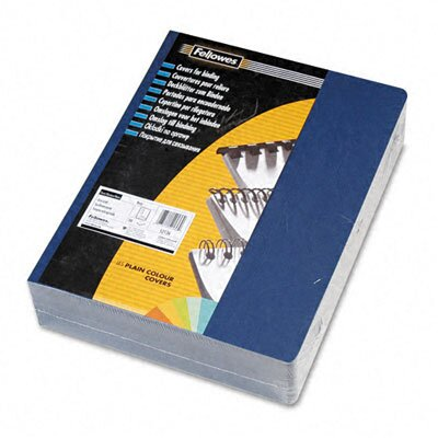 Fellowes Mfg. Co. 52136 Classic Grain Texture Binding System Covers, 11-1/4 X 8-3/4, 200/Pack