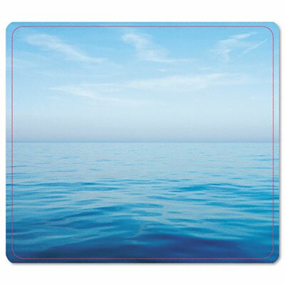 Fellowes Mfg. Co. Recycled Mouse Pad, Nonskid Base