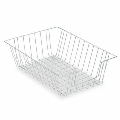 Fellowes Mfg. Co. Workstation Legal Size Desk Tray Organizer, Single-Tier, Wire