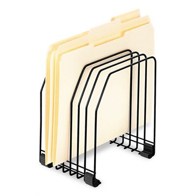 Fellowes Mfg. Co. Workstation File Organizer, Seven Sections, Wire