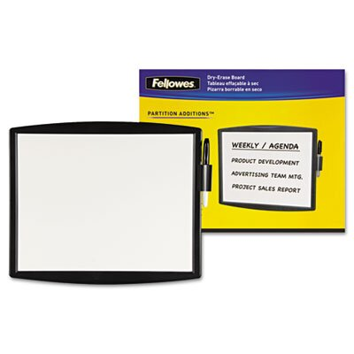 Fellowes Mfg. Co. Partition Additions Dry Erase 1.1' x 1.28' White Board