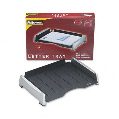 Fellowes Mfg. Co. Side Load Letter Desk Tray, Plastic