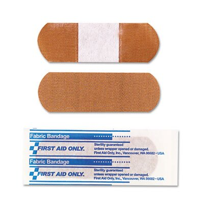 First Aid Only™ Fabric Bandages, 25/Box
