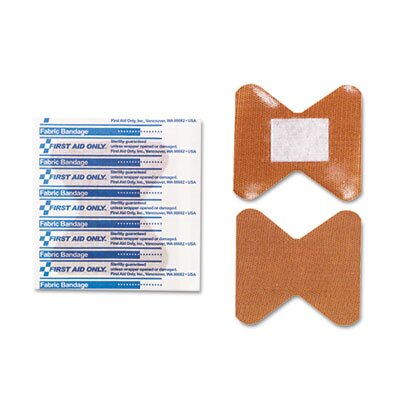 First Aid Only™ Fingertip Bandages, Individually Sterilized, 10/Box
