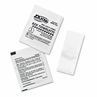 First Aid Only™ Antiseptic Cleansing Wipes, 10/Box