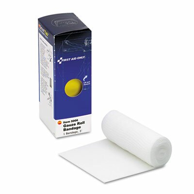 "First Aid Only™ Gauze Bandages, 3"", 1 Roll"