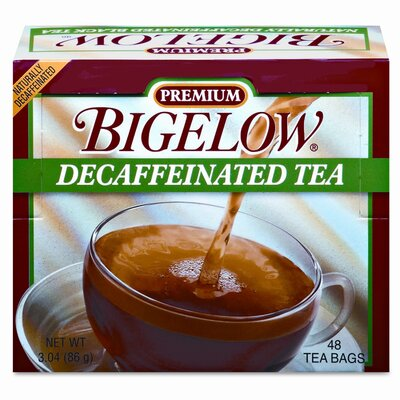 FIVE STAR DISTRIBUTORS, INC. Bigelow Single Flavor Tea, Decaffeinated Black, 48 Bags/Box