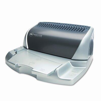 GBC® CombBind C210E Electric Comb Binding Machine, 425-Sheets, 16 x 14 x 9, Silver/GY