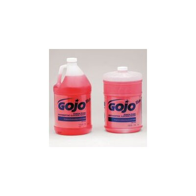 GOJO Industries Top Gallon Thick Pink Antiseptic Lotion Soap