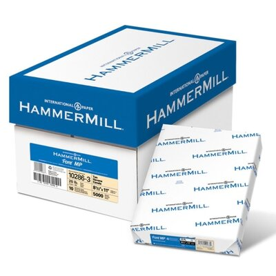 Hammermill Fore Mp Recycled Colored Paper, 20Lb, 8-1/2 X 11, 500 Sheets/Ream